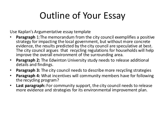 Thesis for argumentative essay