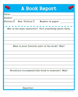 Help with book reports