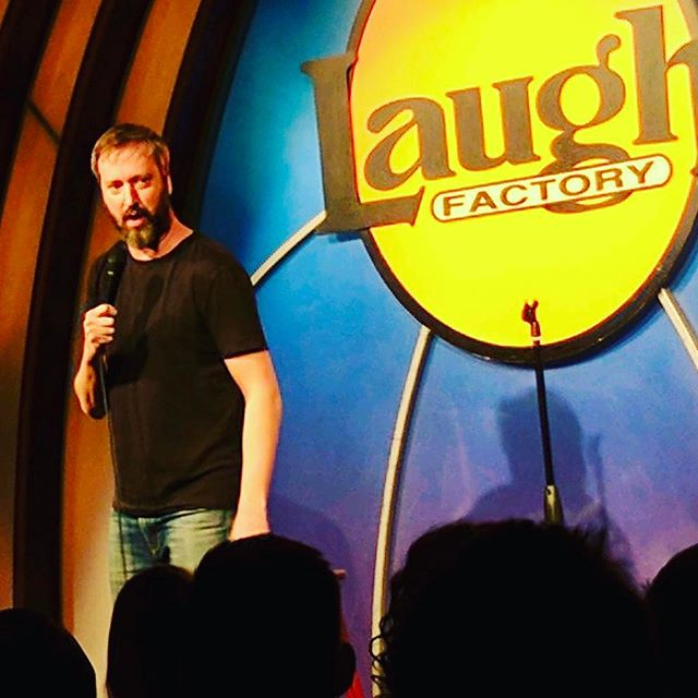 I've been having a great time performing around Los Angeles the last few weeks.  Here is a pic from this week @laughfactoryhw Everybody come out and see some live stand up comedy in