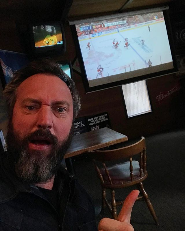I'm in right now watching the Ottawa Senators New York Rangers game!  Sudden Death overtime starts now!  Exciting game!  #Hockey!