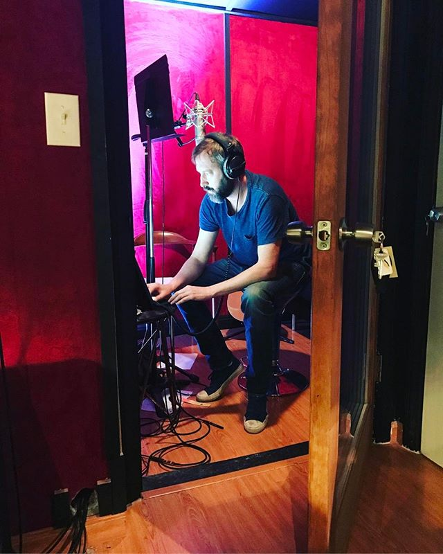 In my studio today writing some funny songs for an upcoming album of funny songs.  I've been secretly producing music since 1988.  Looking forward to playing these new funny songs to all of you.