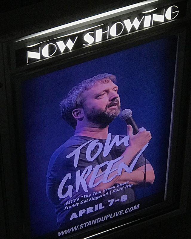 @standuplive Tonight and Tomorrow