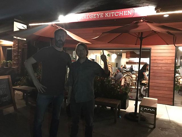 Just had a delicious meal with my good friends @jodymorrisphoto and @eeeedia at their amazing restaurant @birdseyekitchen in everybody go!  Amazing food.