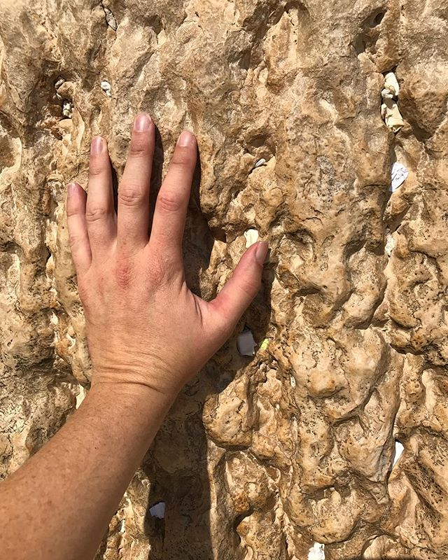 Instagram: Touching The Western Wall – Jerusalem, Israel