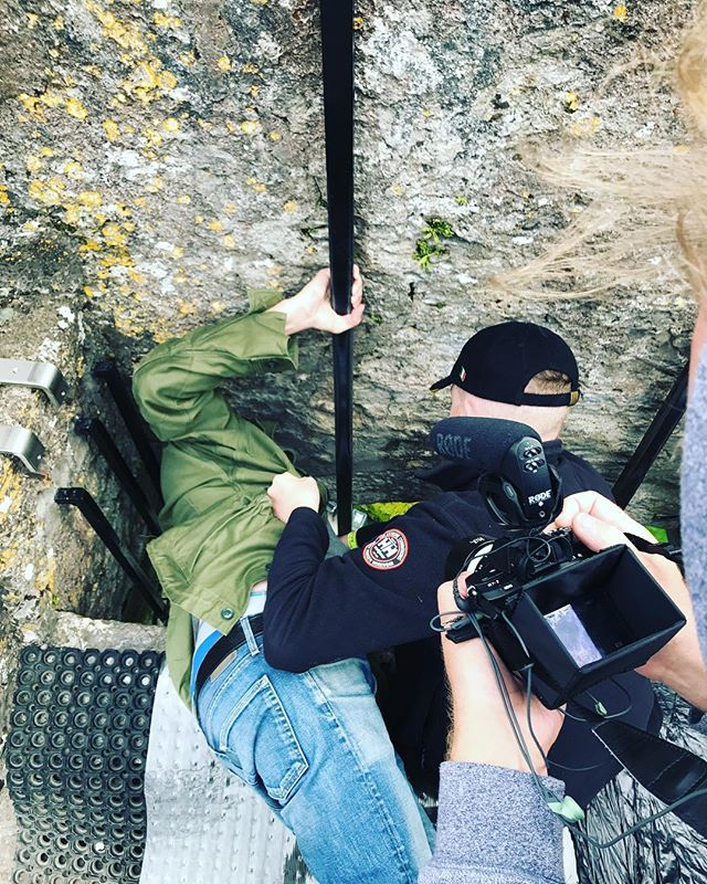 Here I am kissing The Blarney Stone