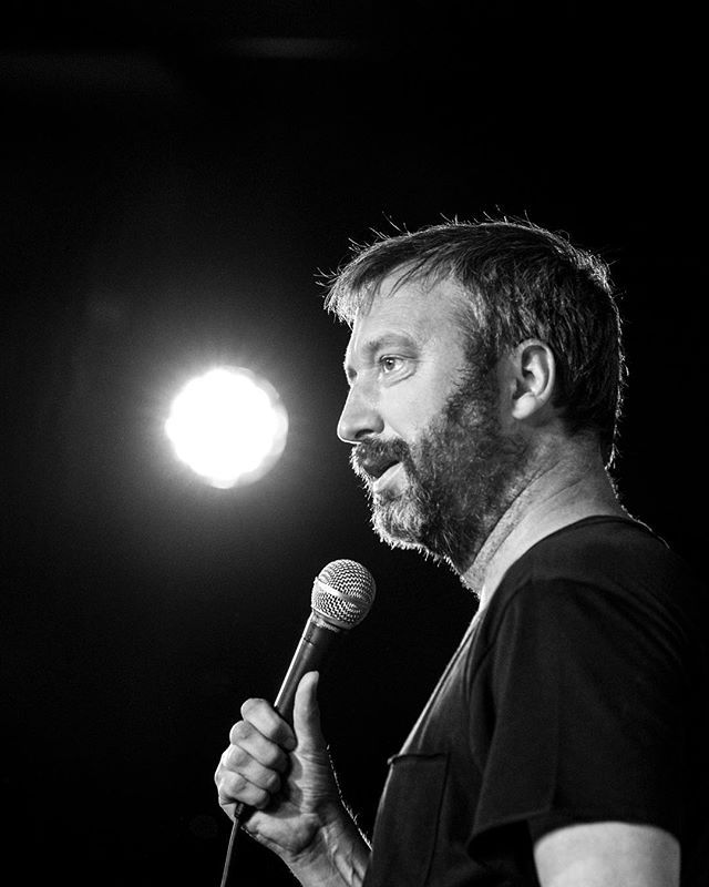 On tour now all shows posted at TomGreen.com photo @comictog on twitter
