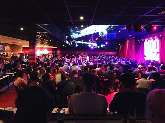 SOLD OUT tonight in Getting ready to take the stage soon!